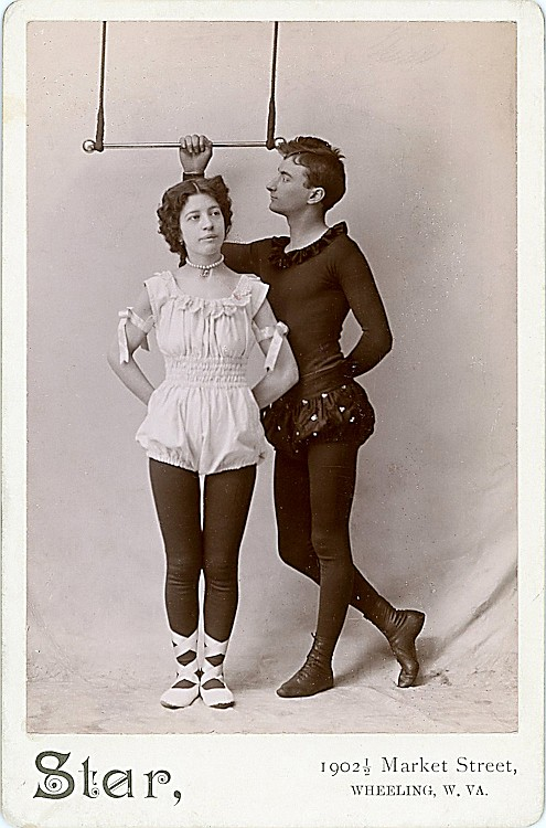 Trapeze artists.