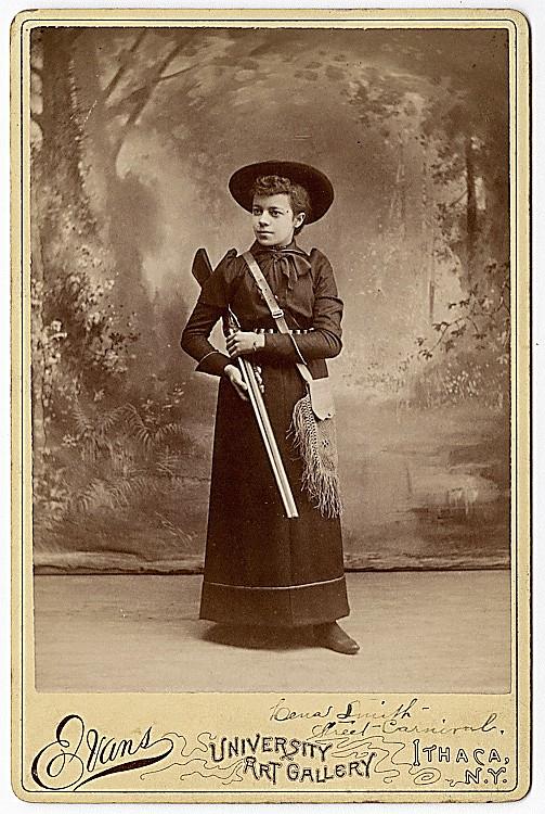 Lena Smith, Sharpshooter.