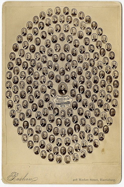 Members of the Pennsylvania House of Representatives, 1879.