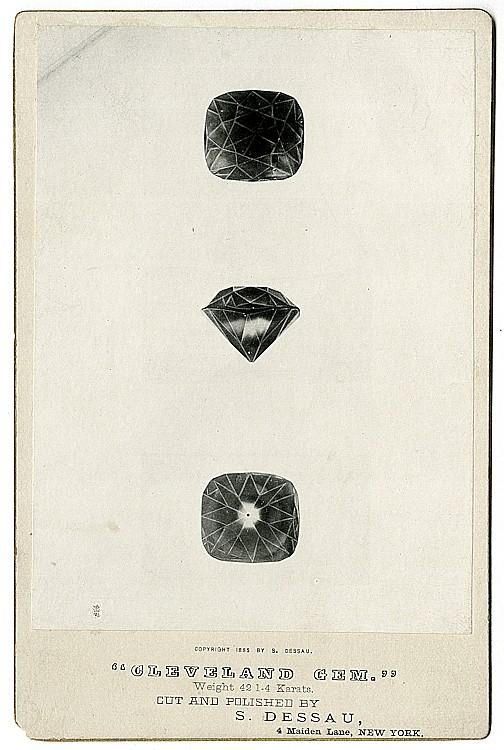 A gem cutter's artistry.