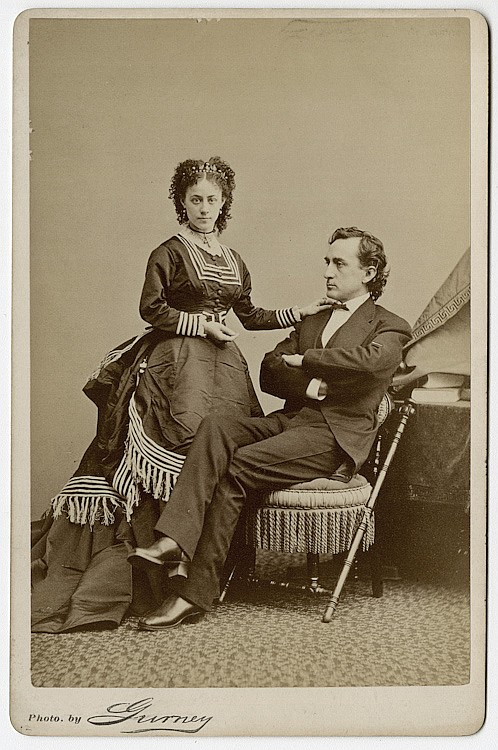 Edwin Booth as family man.
