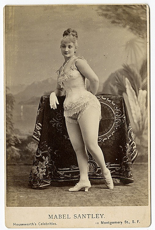 "Mabel Santley, ""Queen of the Burlesque."""