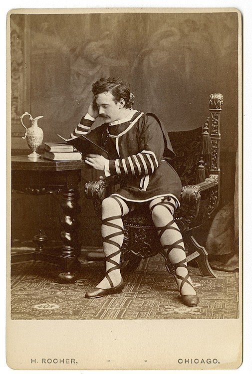 James O'Neill. 3 cabinet cards He was a great actor and a notorious rake.