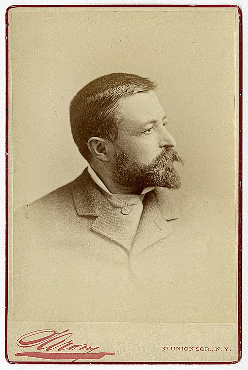 Thomas Nast. Vignette portrait.