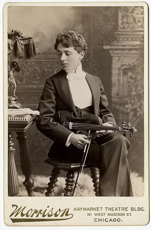 Leon Marx, violinist.