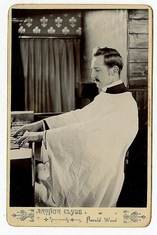 A church organist.