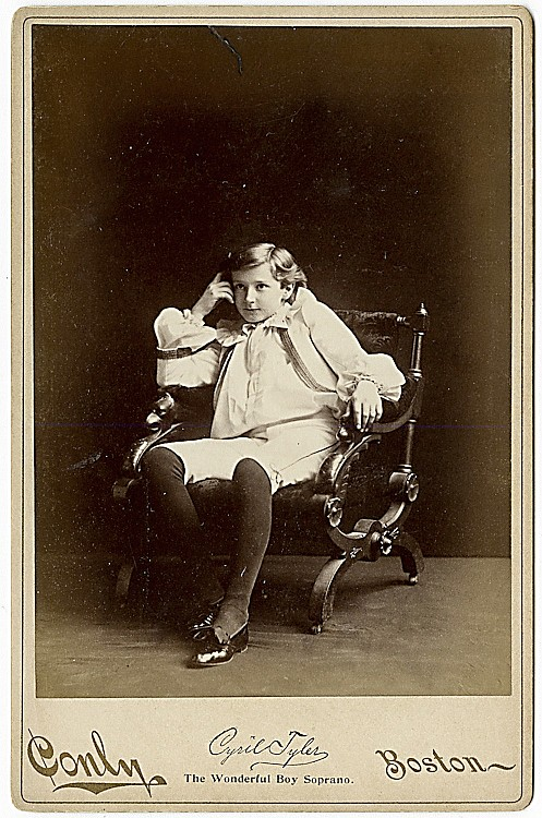Theatrical Portraits by Charles F. Conly, Boston. 9 cabinet cards.