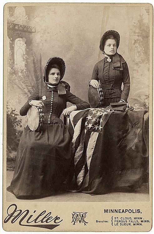 Salvation Army women.