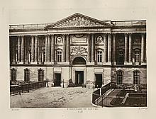 COLLONADE DU LOUVRE BY BALDUS.