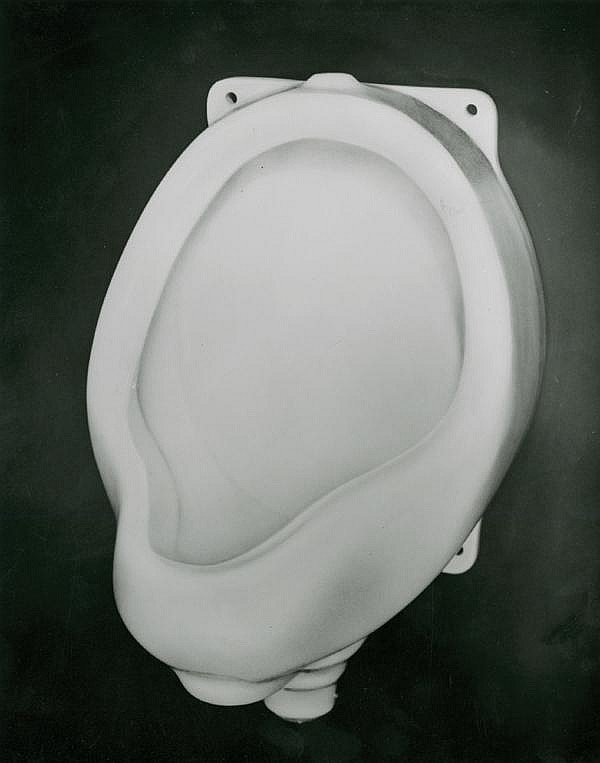 URINAL BY HENRI MANUEL, ca. 1960.