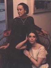 """Marie Cosindas (1923 – 2017). Portrait from the series """"Athenaeum Ladies"""""""
