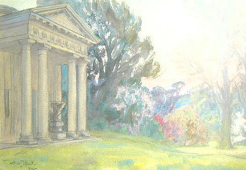 Arthur John Black (1855-1936) - Kew - signed and