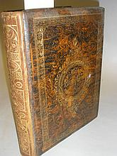 PAPIER-MACHE BINDING : The Book of Gems. From the