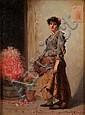 A. D. Bastin (late 19th Century, fl.1871-1900) A, A. D. Bastin, Click for value