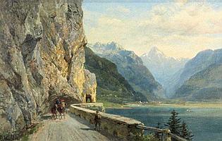 Bernhard Muhlig ([829-1910] - Swiss Pass: -