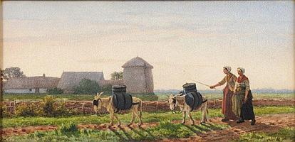 Gerrit Alexander G Mollinger [1836-1867] - The