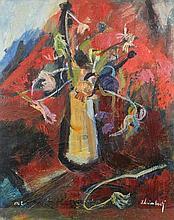 * Idelbene Lisimberti [b.1927]- Still life of