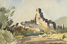 * Edward Wesson [1910-1983]- Corfe Castle:-