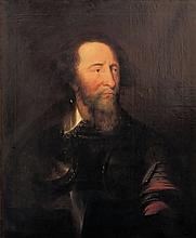 English School - Portrait of a nobleman wearing a