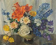 * Gwendoline Whicker [1900-1966]- Summer flowers: