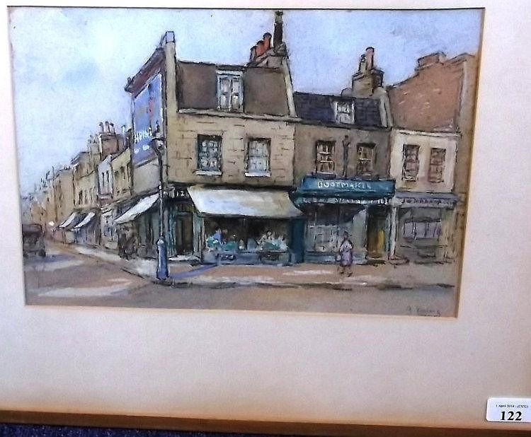 G. Keeling, early 20th century - A London street