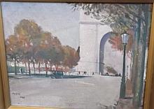 French School- Arc de triumph:- indistinctly