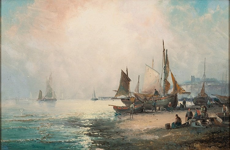 William Anslow Thornley [c.1858-1898]- Whitstable