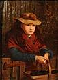James Hayllar [1829-1920]: The Blackberry Girl:-