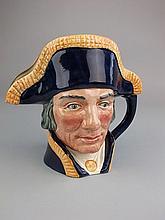 A Royal Doulton character jug, Lord Nelson:,