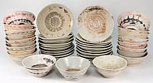 Tek Sing Cargo - Twenty Swatow porcelain bowls and