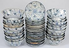 Tek Sing Cargo - Twenty Chinese porcelain bowls