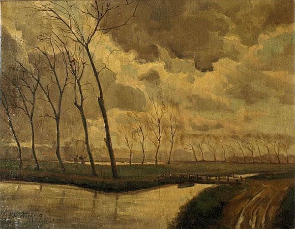 Jos Trotteyn (b.1910, Belgian) - An extensive