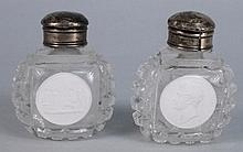 A pair of Apsley Pellatt royal commemorative scent