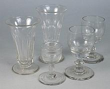 A group of Waterford and other glasses: comprising