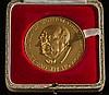 A 22ct gold commemorative medallion 'RT Hon Sir Wi, Sir Winston Churchill, £2,400