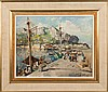 * Felice Giordano [1880-1964]- The Harbour, Capri:, Felice (1880) Giordano, £160