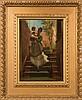 Jerry Barrett [1814-1906]- Mother, Child and Cat o, Jerry Barrett, £320