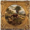 Circle of Joseph Donovan Adam [1842-1896]- Sheep a, Joseph Denovan (1842) Adam, £480