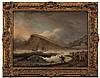 Thomas Luny [1759-1837]- Shipwreck at The Ness:- s, Thomas Luny, £1,200