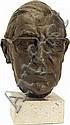 Franta Belsky (1921-2000) A Bronze bust of a, Franta Belsky, Click for value