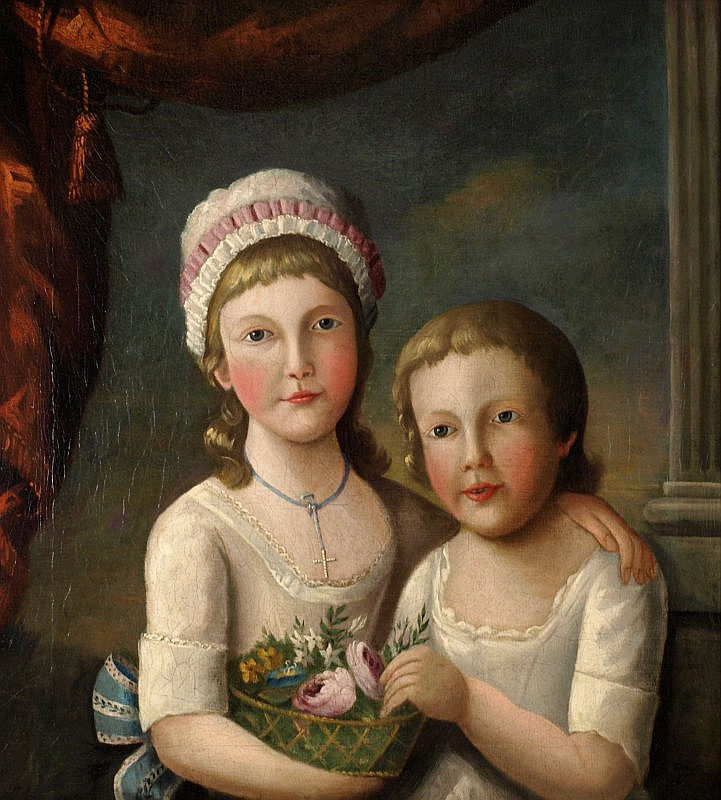 British School (early 19th century): Half-length
