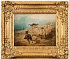 William Watson [fl.1866-1872]- Rounding the Sheep, William (1866) Watson, Click for value