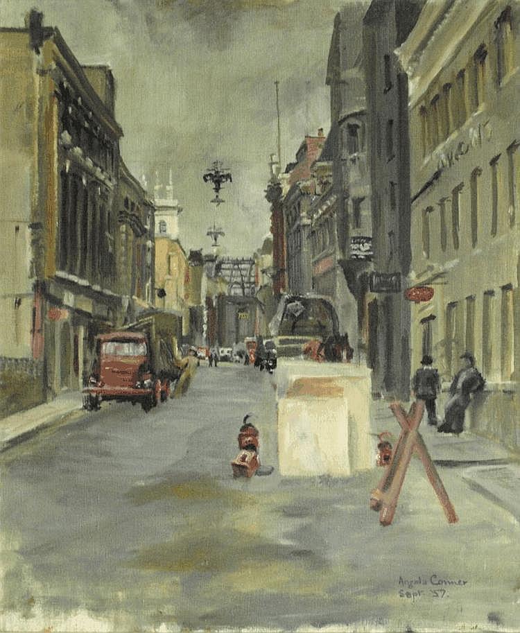 Angela Conner (20th Century)  - London Street