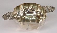 A Victorian silver quaiche, maker George Adams,