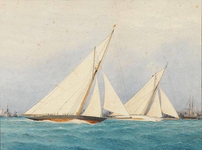 Robert Taylor Pritchett (1828-1907) America Cup