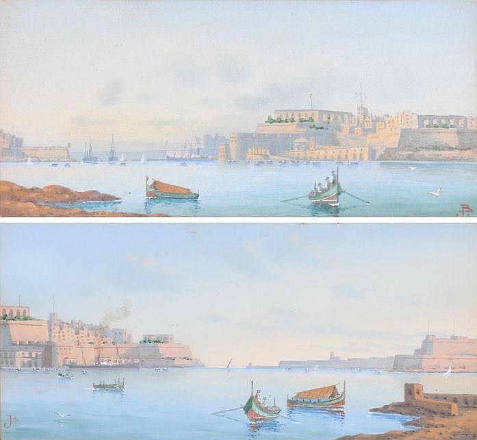 Joseph Bonello (19/20th Century Maltese) Valetta