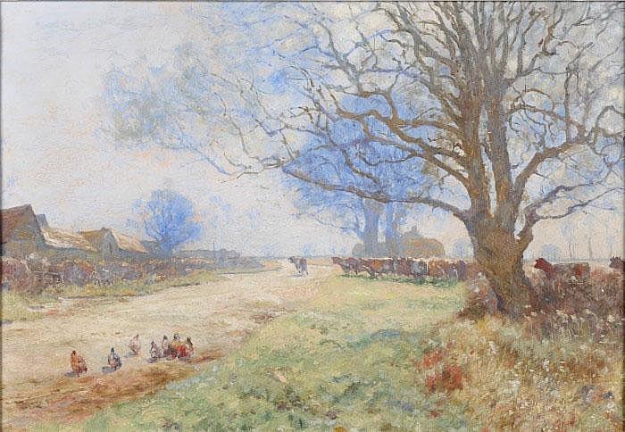 Ernest Pile Bucknall (1861 - c.1915) 'A March