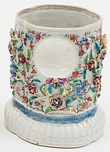 A Chinese famille rose export porcelain watch