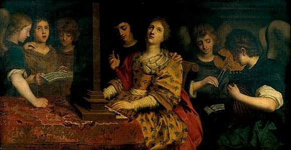 Attribué à Otto Van VEEN (1556-1629) - Sainte