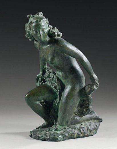 Paul BELMONDO (1898-1982) Baigneuse Épreuve en